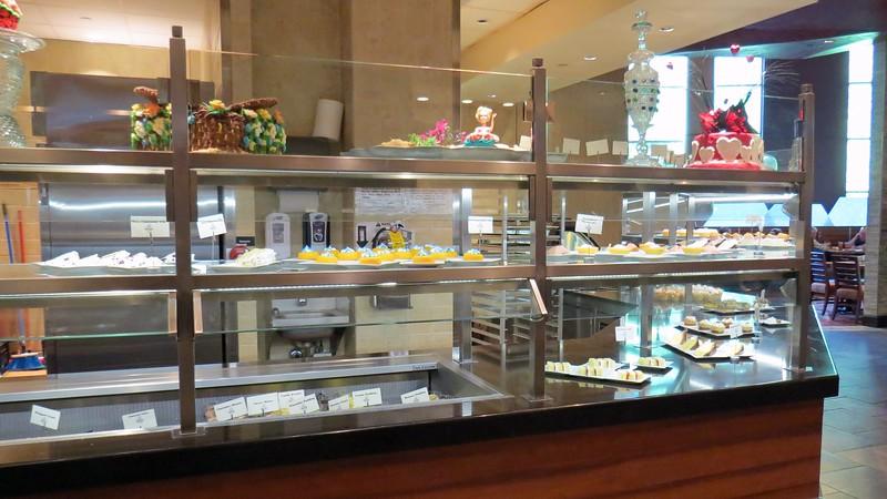 The large dessert station.