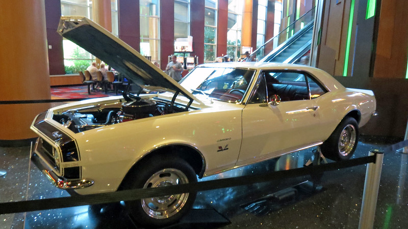 I was surprised to find a 1967 Chevrolet Camaro SS396 on display at the entrance.