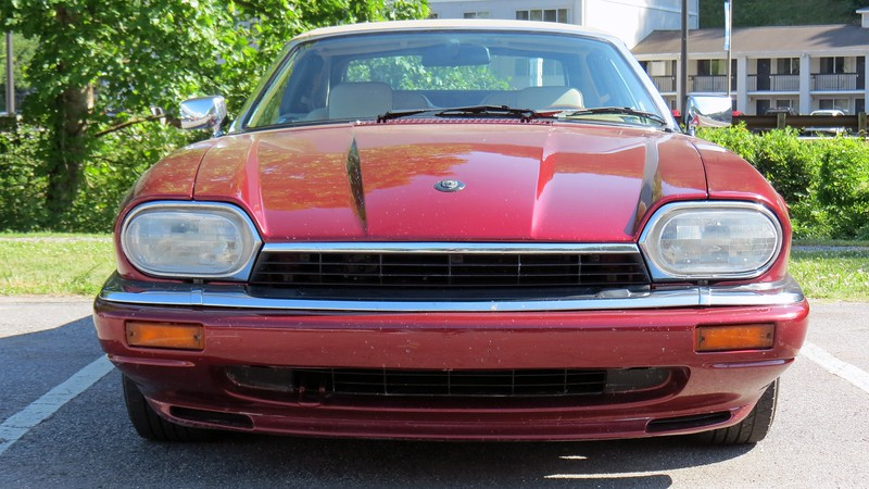 """With the """"Beautiful Disaster"""" XK8 currently throwing a cooling system fit in my garage, we hopped in the XJS for the three hour trip north."""