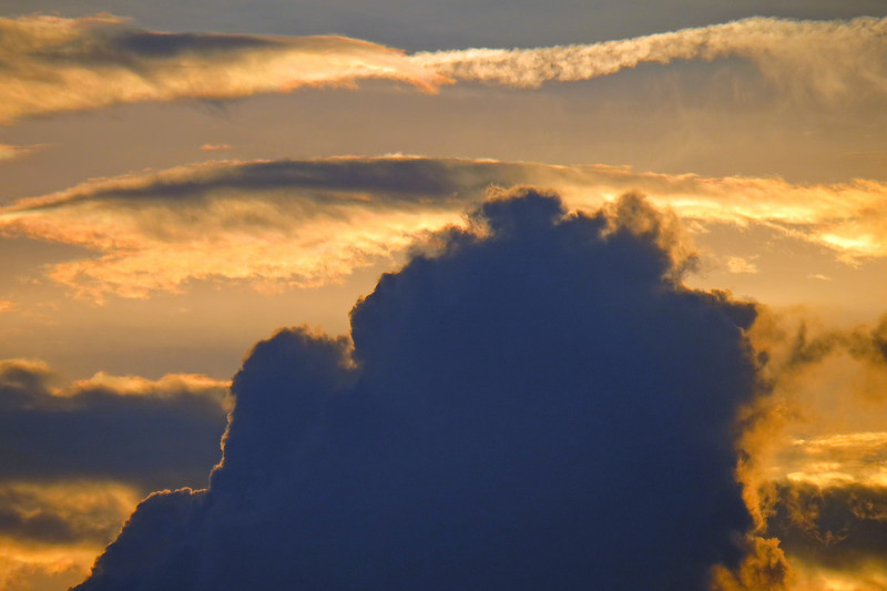 I tried zooming in on the clouds with varying levels of success.