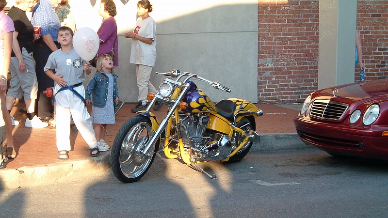 I was more interested in the custom motorcycle, though.