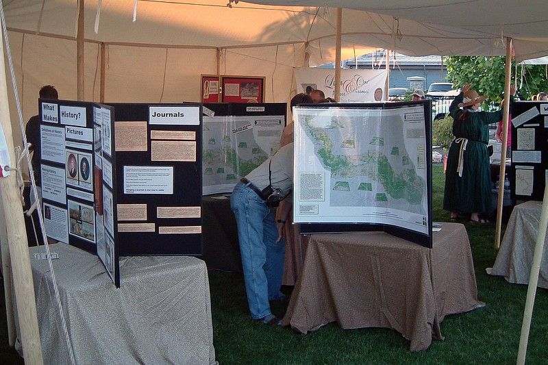 Most of the exhibits at Flat Branch Park were themed around the Lewis and Clark Exhibition.