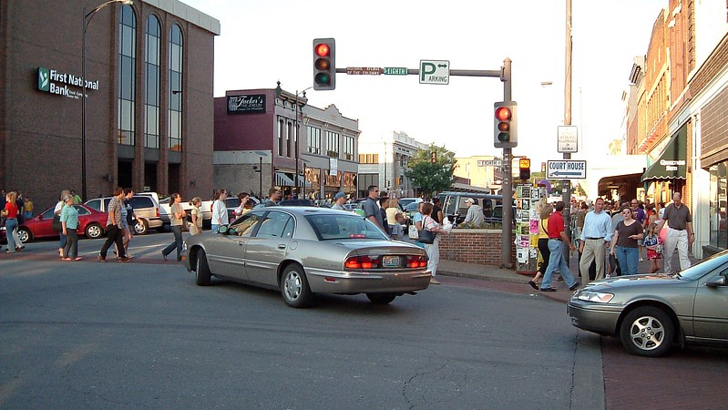 The Twilight Festival always attracted a good crowd, especially when the weather cooperated.  Tonight was no exception.
