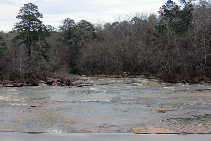 Zooming in downstream over Watson Shoals.
