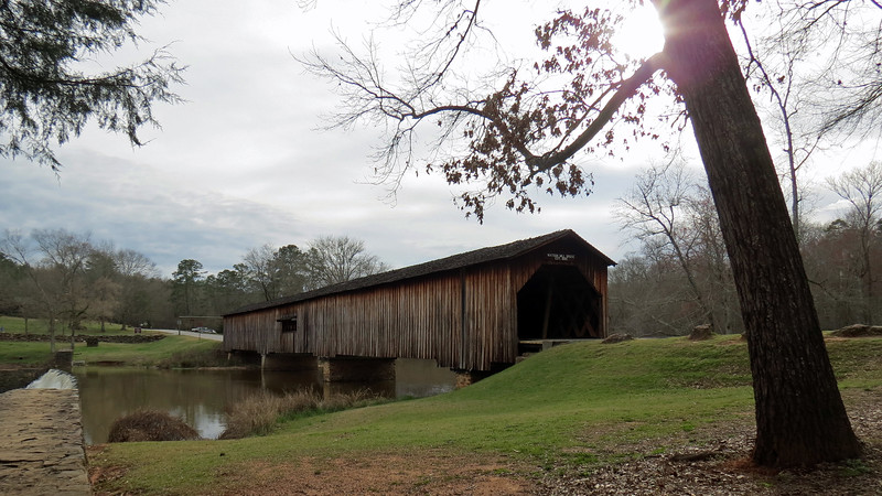 A great visit to Watson Mill Bridge State Park !