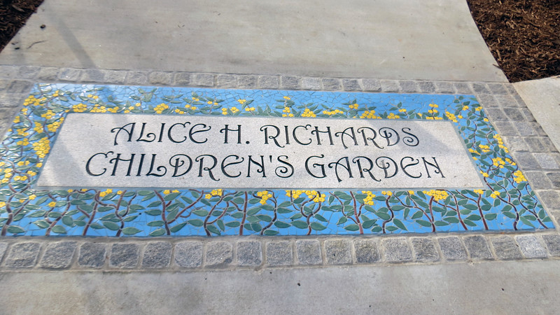 Alice H. Richards was a charter member of the State Botanical Garden advisory board and active with the Garden for many years.