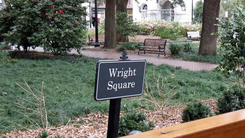 Wright Square.