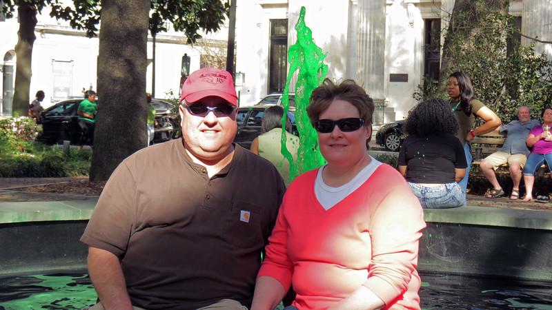 Thanks to Tim & Julie for meeting me in Savannah.