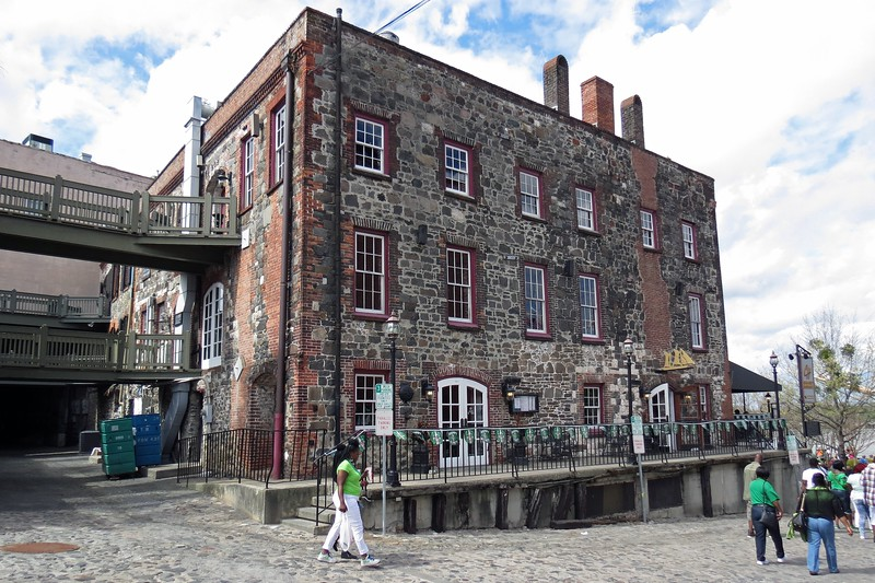 The Chart House Restaurant occupies a former warehouse from 1790.  The building is listed as the oldest masonry building in the state.