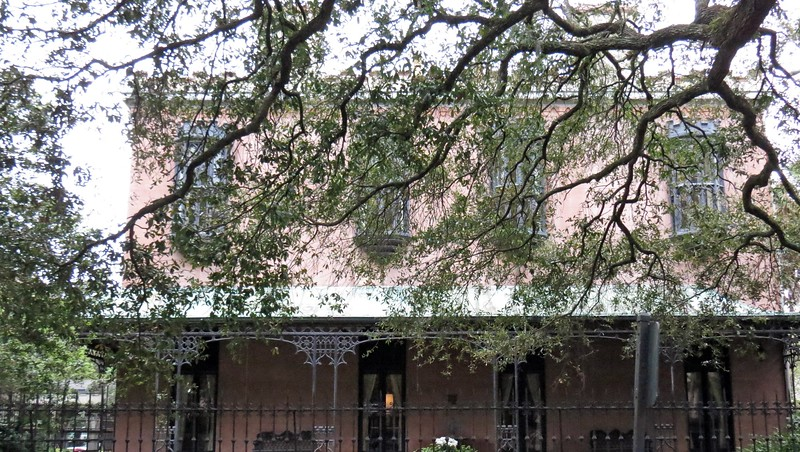 The Green-Meldrim House from 1853 also sits at Madison Square.  The home's original owner was cotton merchant Charles Green.  This home is notable for being General William T. Sherman's headquarters during the Civil War.