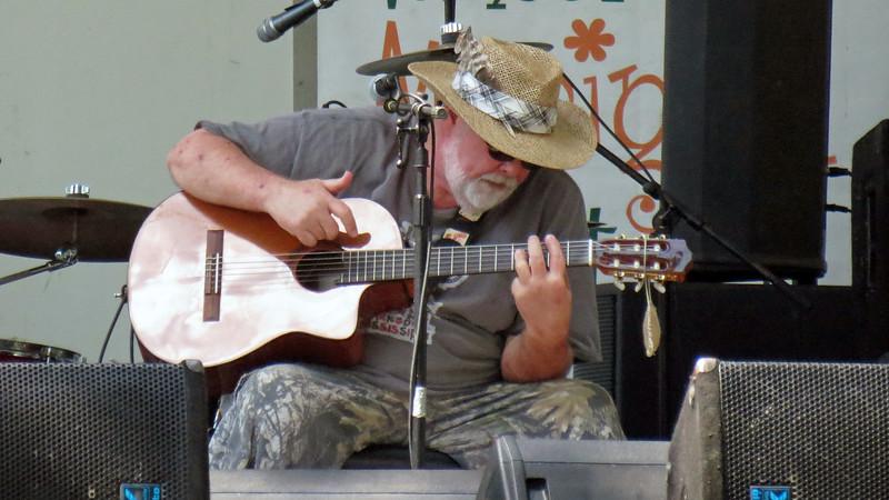 Band leader Mark Wilmot.