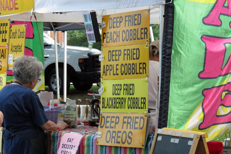 """Deep Fried"" is, apparently, quite popular around here."
