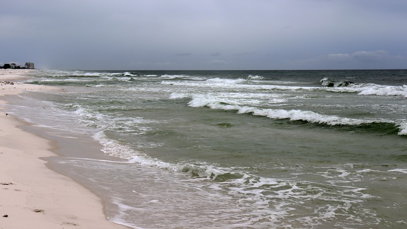 Time to get my feet wet in the Gulf of Mexico since I remembered to bring my beach sandals with me.