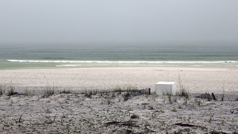 I enjoyed listening to the calm beach with the recurring small waves.  Quite relaxing.