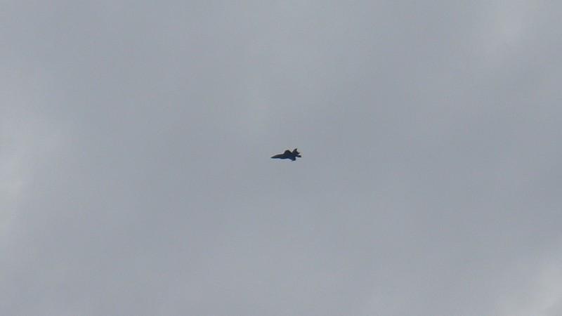 More military aircraft.