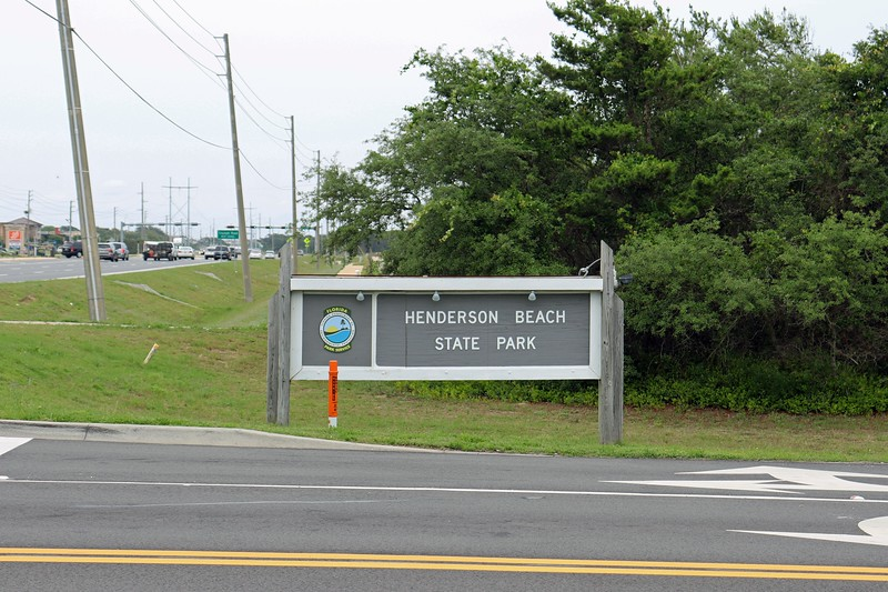 I continued east on Route 98 through Destin until I reached Henderson Beach State Park and decided to pull in and have a look around.
