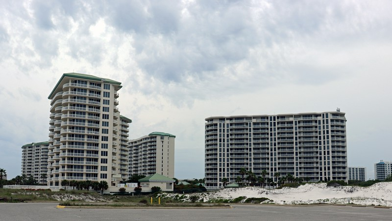The aforementioned Silver Shells condo complex sits at the west end of the park.