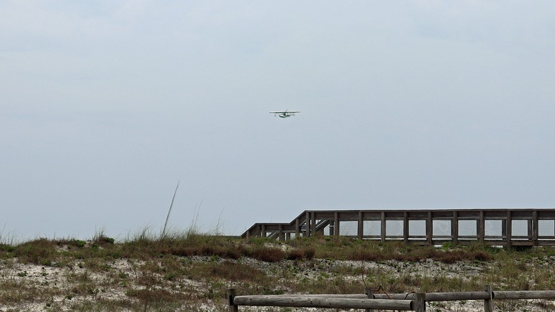 This was the same Fly The Beach seaplane I saw earlier.