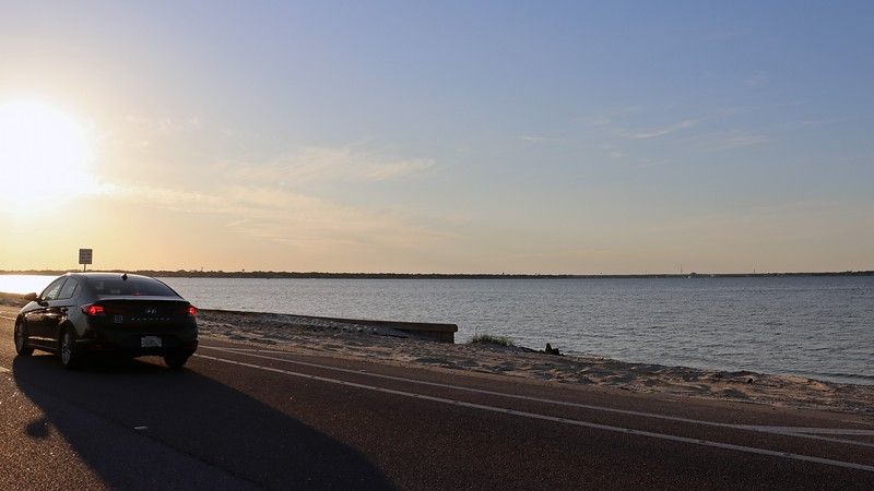 Choctawhatchee Bay sat off to my right.