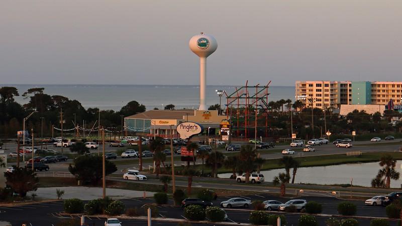 The Okaloosa County water tower.