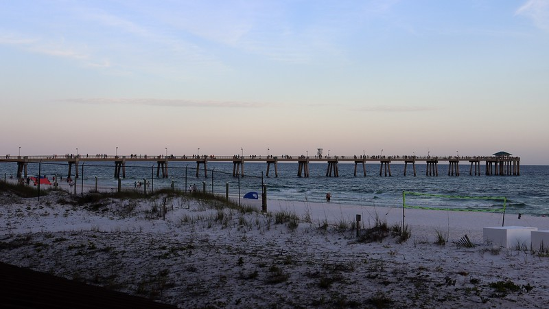The photo above is of the nearby Okaloosa Island Fishing Pier.