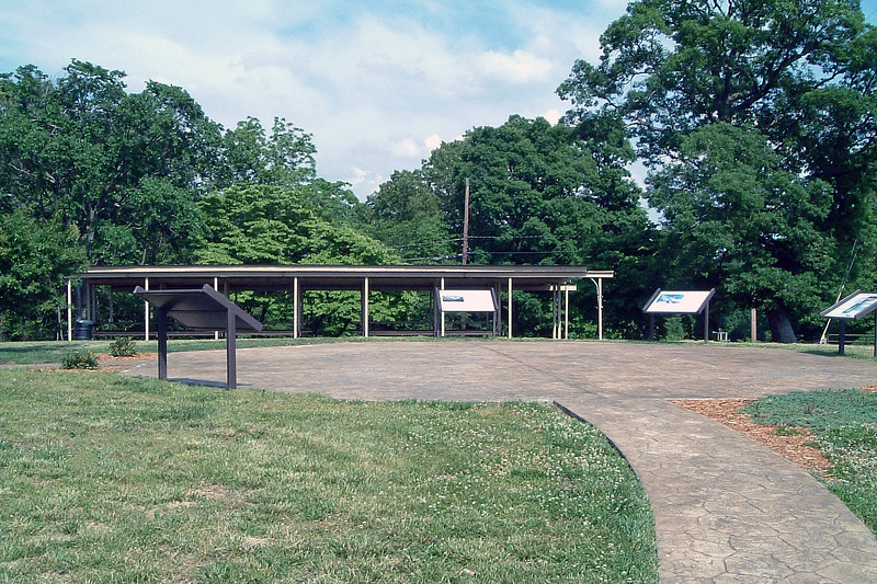 There is also a picnic pavilion on site.