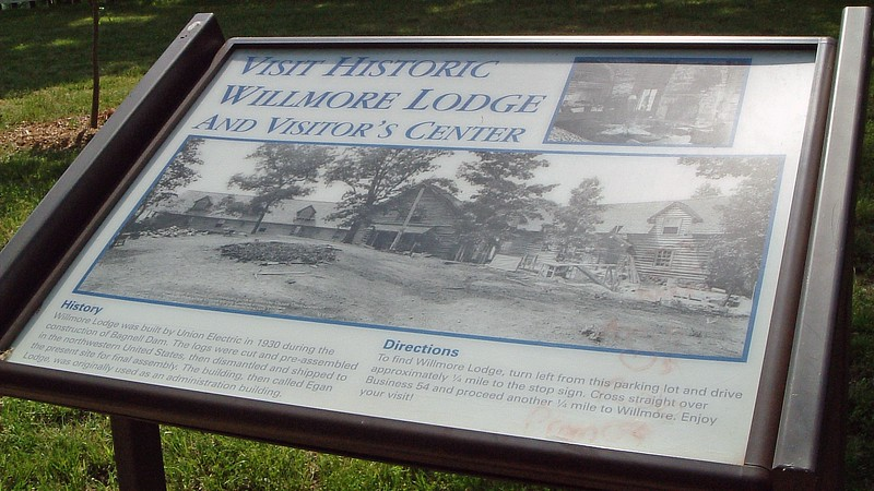 Nearby Willmore Lodge was also built by the Union Electric Company and served as the company's administrative offices.