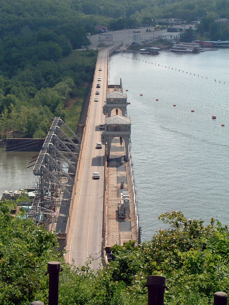 The Bagnell Dam.