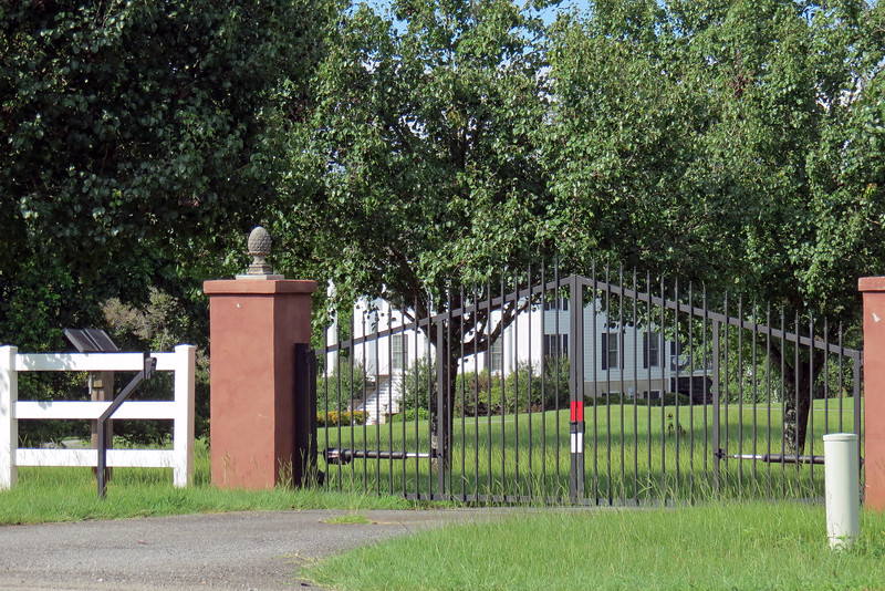 I don't know what this property is other than huge.  The fence in front of it seemed to go on forever.
