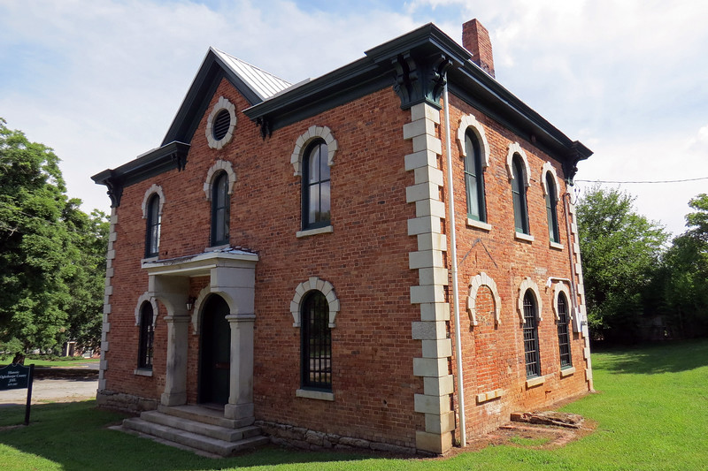 The county jail dates from 1879.