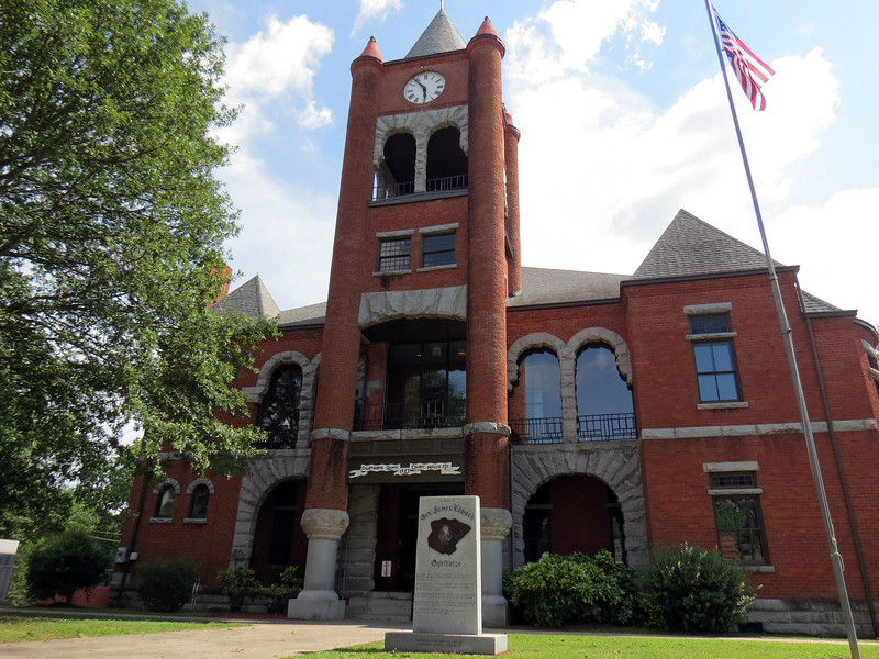 Shortly after its founding, Lexington became the Oglethorpe County seat.  The courthouse dates from 1887.
