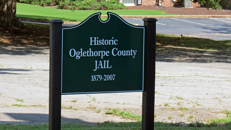 I passed the historic county jail on my way back to the car.