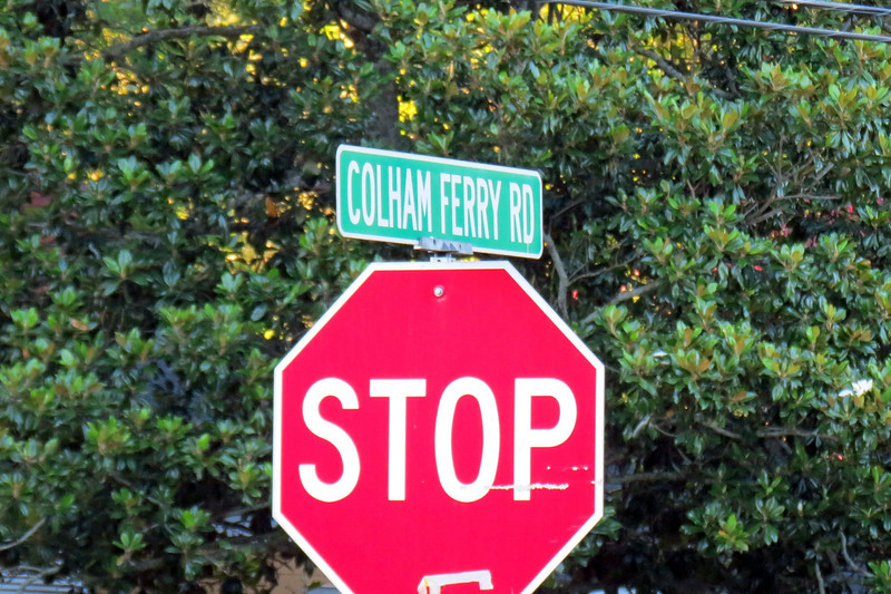 Soon I had arrived at the end of Colham Ferry Road where it intersects with Main Street.