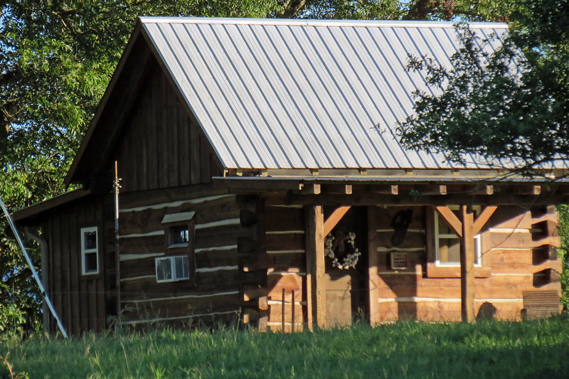 If this was an old cabin, it looked to be fully restored.