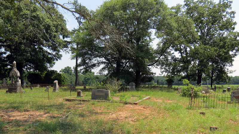 This is the Aaron Bearden Cemetery at Hardigree Bell Road.  The cemetery's namesake, Aaron Bearden, was born in 1802 and died in March 1847.