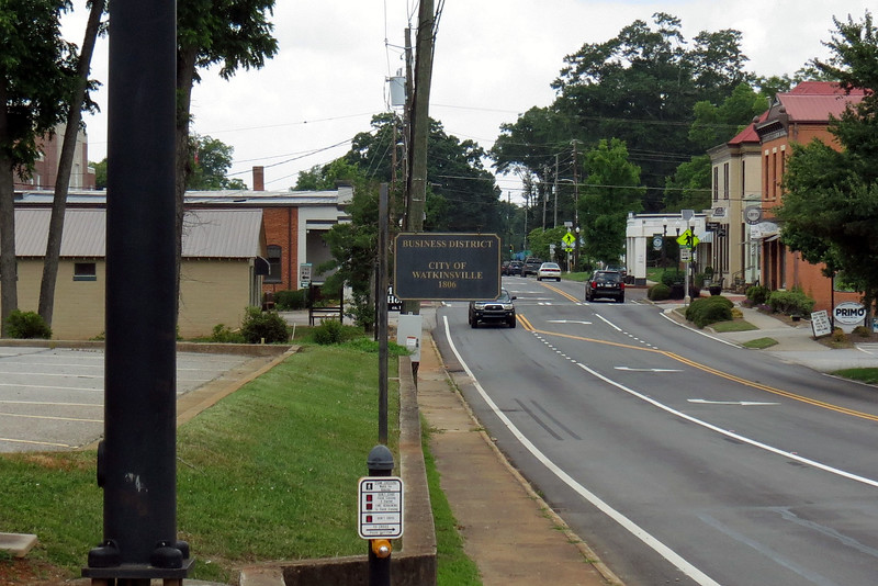 Watkinsville business district.