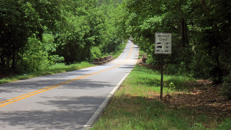 Double Bridges Road ends at Wolfskin Road which eventually leads to Watkinsville.