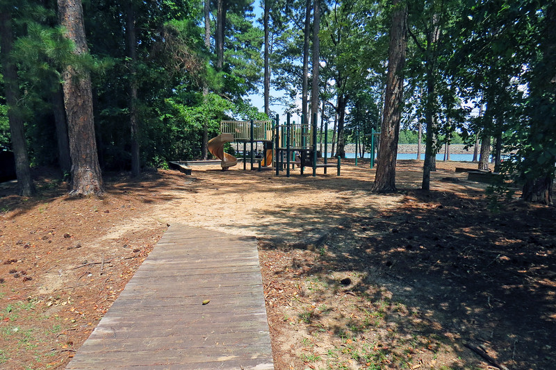 One of several playgrounds.