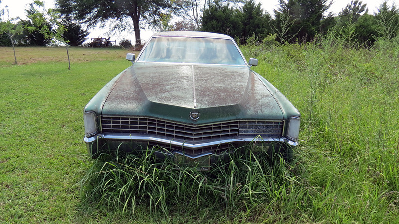 He invited me up to have a look at this 1968 Cadillac Eldorado that belonged to his grandmother.
