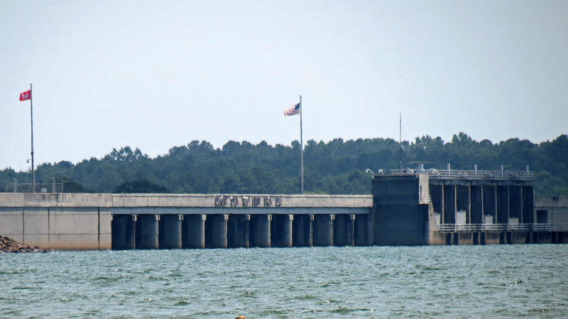 Hartwell Dam.