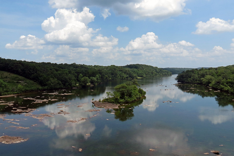 Another small island in the Savannah River south of the Hartwell Dam.