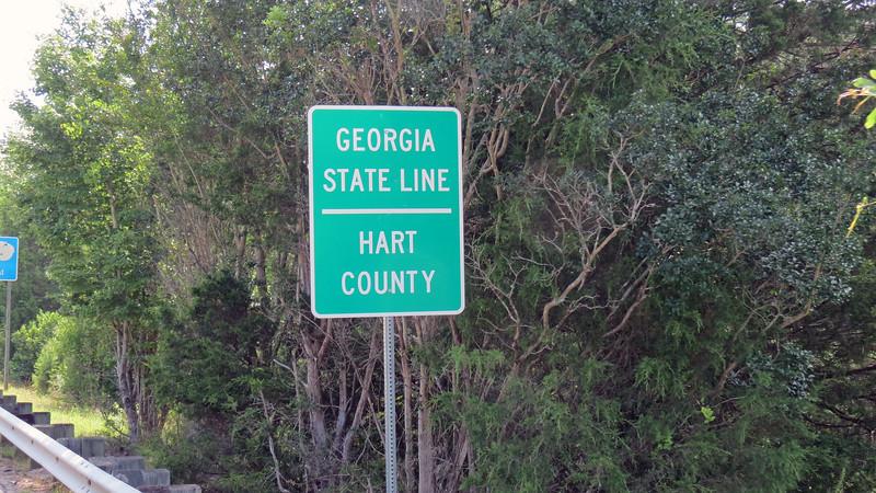 Welcome back to Georgia.