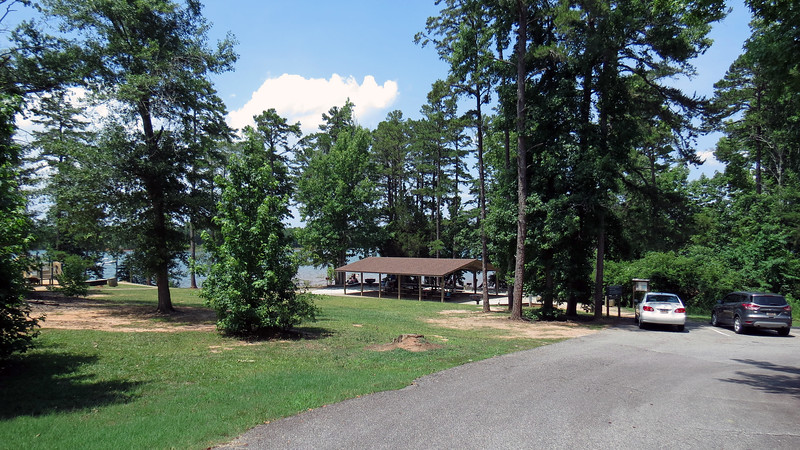 """I believe Singing Pines has something like 57 picnic sites plus two large """"picnic shelters"""" that have electricity and running water."""