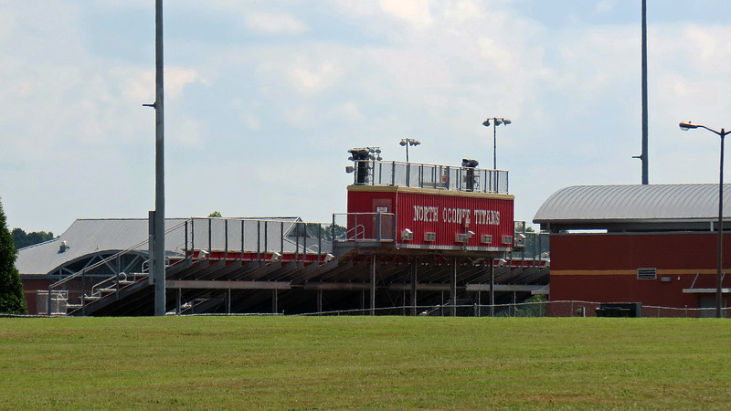 Stadium at North Oconee High School.