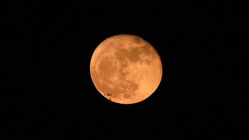 """This was the second of three """"Supermoons"""" for 2016."""