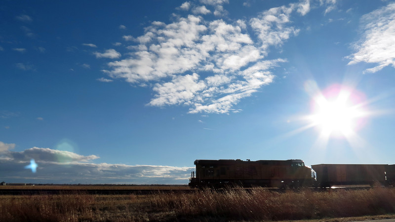 This is a Union Pacific train.