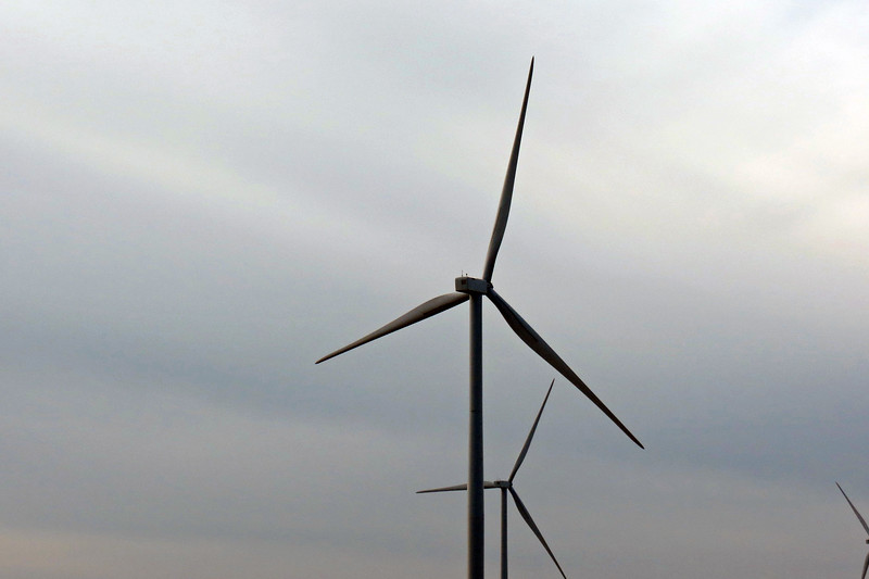 Osborn Wind Energy Center, Osborn, Missouri.
