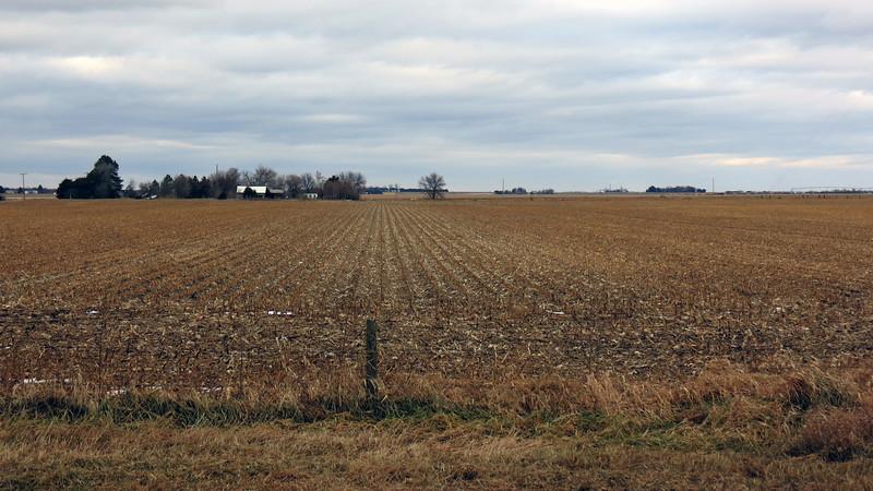 Farm directly behind the rest area near York, Nebraska.