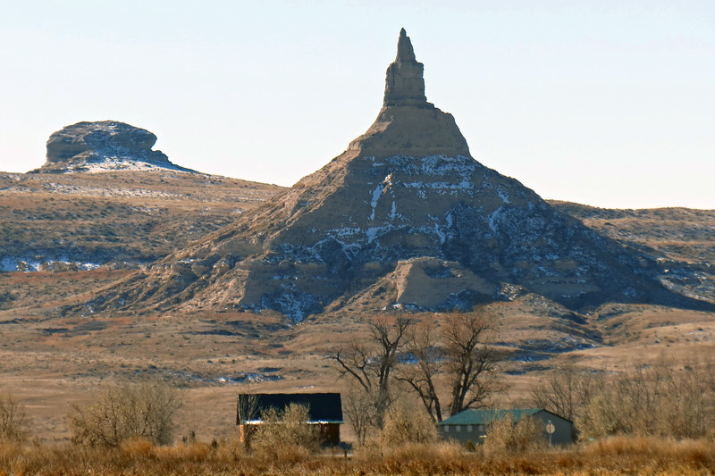 The area around Chimney Rock has been designated a National Historic Site with a Visitor Center.  The Chimney Rock Cemetery sits to the southeast of the site.