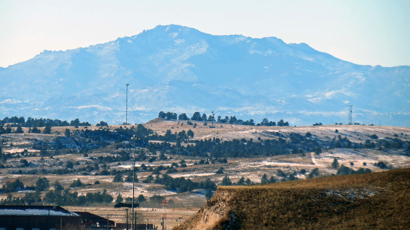 Laramie Peak is about 38 miles west of where I am standing at this moment.